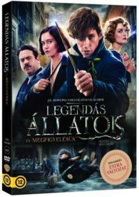 Legendás állatok és megfigyelésük DVD