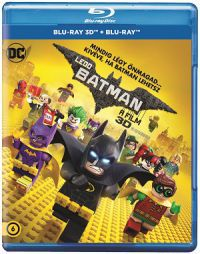 Lego Batman - A film 2D és 3D Blu-ray
