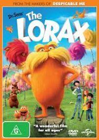 Lorax DVD