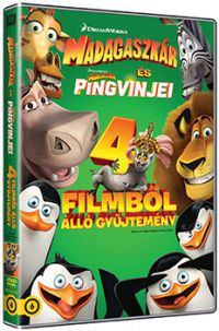 Madagaszkár gyűjtemény (4 DVD) DVD
