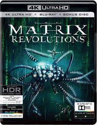 Mátrix Forradalmak (4K UHD Blu-ray + BD) Blu-ray