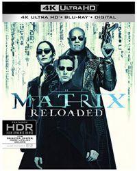 Mátrix Újratöltve (4K UHD Blu-ray + BD) Blu-ray