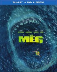 Meg- Az Őscápa Blu-ray