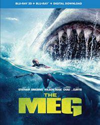 Meg- Az Őscápa 2D és 3D Blu-ray