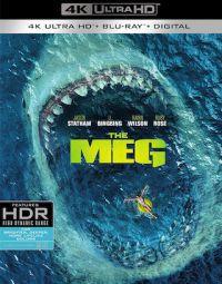 Meg- Az Őscápa (4K UHD + Blu-ray) Blu-ray