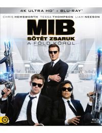 Men in Black – Sötét zsaruk a Föld körül (4K UHD + Blu-ray) Blu-ray