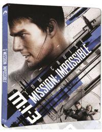 Mission Impossible 3. - limitált, fémdobozos változat (steelbook) (UHD Blu-ray) Blu-ray