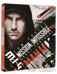 Mission Impossible 4. - Fantom protokoll (UHD+Blu-ray )- limitált, fémdobozos változat (steelbook) Blu-ray
