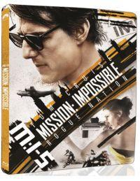 Mission Impossible 5. - Titkos nemzet (4K Ultra HD (UHD) + BD) - limitált, fémdobozos változat (stee Blu-ray