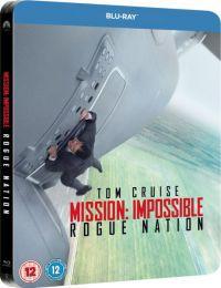 Mission Impossible 5. - Titkos nemzet - limitált, fémdobozos változat (steelbook) Blu-ray