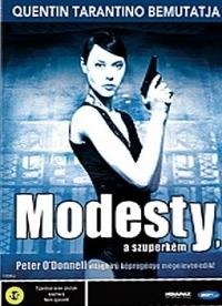 Modesty a szuperkém DVD