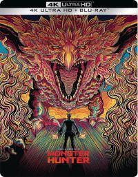 Monster Hunter – Szörnybirodalom (4K UHD + Blu-ray) - limitált, fémdobozos változat (steelbook) Blu-ray