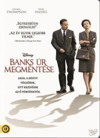 Mr. Banks megmentése DVD