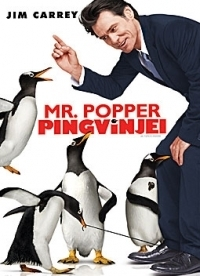 Mr. Popper pingvinjei DVD
