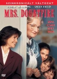 Mrs. Doubtfire - Apa csak egy van DVD