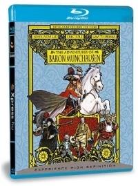 Münchausen báró kalandjai Blu-ray