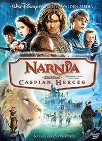 Narnia krónikái 2. - Caspian herceg DVD