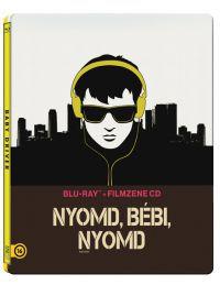 Nyomd, bébi, nyomd (BD + filmzene CD) - limitált, fémdobozos változat (steelbook) Blu-ray