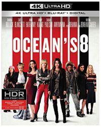 Oceans 8 - Az évszázad átverése (4K UHD + BD) Blu-ray