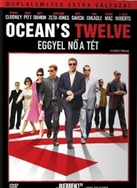 Oceans Twelve - Eggyel nő a tét (egylemezes változat) DVD