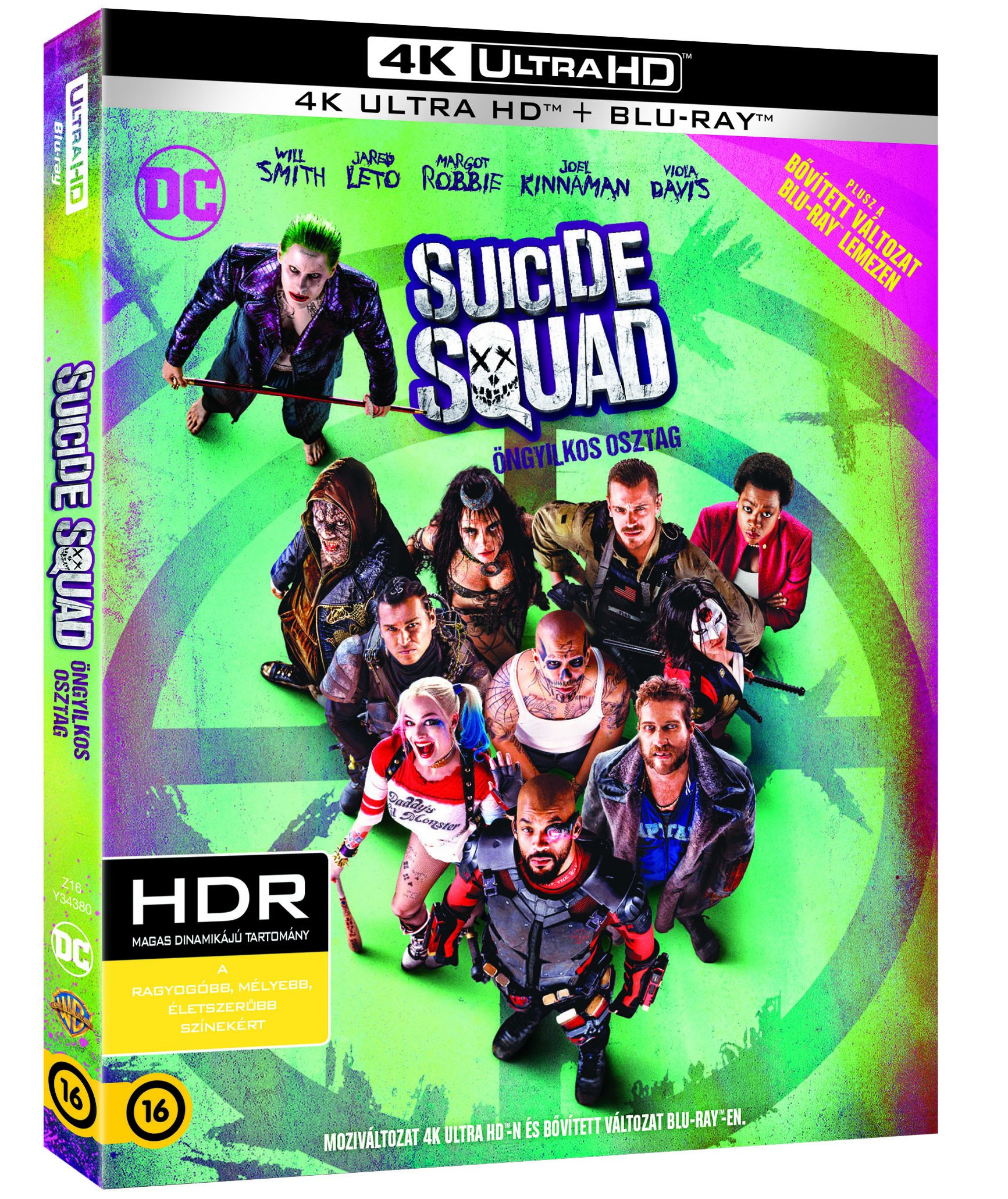 Öngyilkos osztag Blu-ray