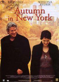 Ősz New Yorkban DVD