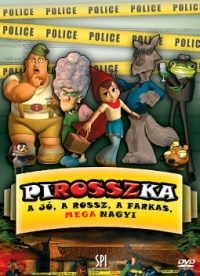 PIROSSZka - A jó, a rossz, a farkas, MEGAnagyi DVD