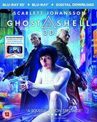 Páncélba zárt szellem 2D és 3D Blu-ray