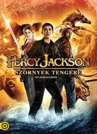 Percy Jackson: Szörnyek tengere DVD