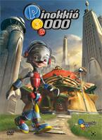 Pinokkió 3000 DVD