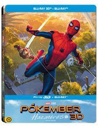 Pókember - Hazatérés (BD3D+Blu-ray) - limitált, fémdobozos változat (steelbook) Blu-ray
