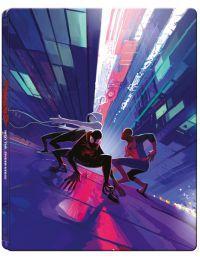 """Pókember - Irány a Pókverzum (UHD+Blu-ray) - limitált, fémdobozos változat (""""International 2"""" steelb Blu-ray"""