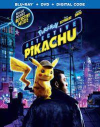 Pokémon - Pikachu, a detektív Blu-ray