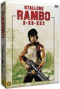 Rambo trilógia (3 DVD) DVD