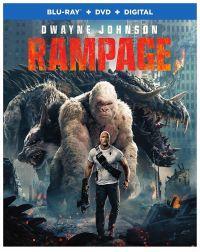 Rampage: Tombolás Blu-ray