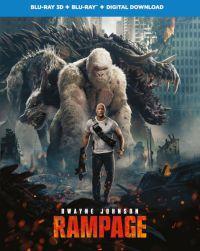 Rampage - Tombolás 2D és 3D Blu-ray