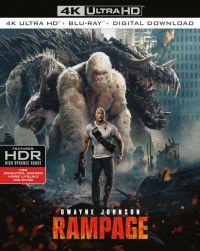 Rampage: Tombolás (4K UHD + Blu-ray) Blu-ray