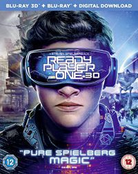 Ready Player One 2D és 3D Blu-ray