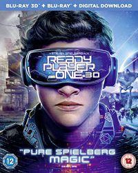Ready Player One  - limitált, fémdobozos változat (steelbook) 2D és 3D Blu-ray