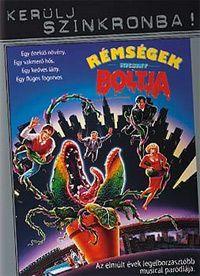 Rémségek kicsiny boltja DVD