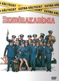 Rendőrakadémia DVD