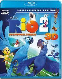 Rio 2. 2D és 3D Blu-ray