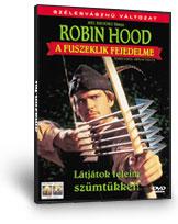 Robin Hood, a fuszeklik fejedelme DVD