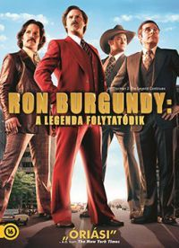 Ron Burgundy - A legenda folytatódik DVD