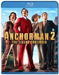 Ron Burgundy - A legenda folytatódik Blu-ray