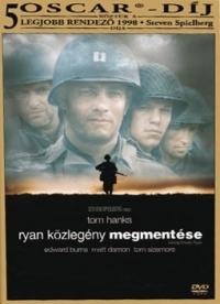 Ryan közlegény megmentése DVD