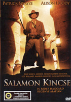 Salamon király kincse DVD