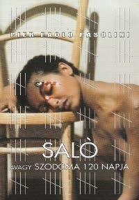 Saló avagy a Szodoma 120 napja DVD