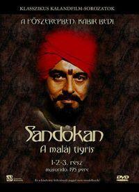 Sandokan - A maláj tigris I. *1-3 rész* DVD