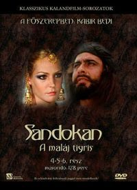 Sandokan - A maláj tigris II. *4-5-6. rész* DVD